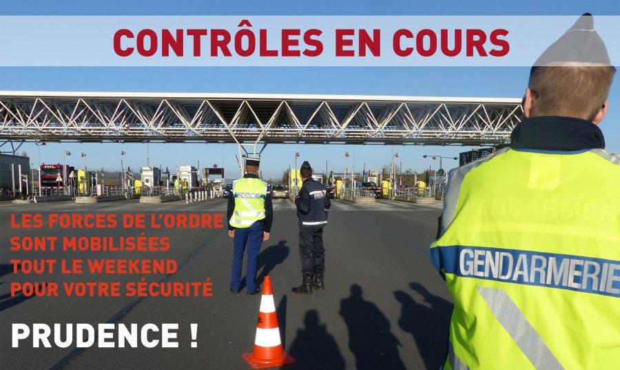 CONTRÔLES EN COURS sur l'ensemble des axes routiers du Calvados