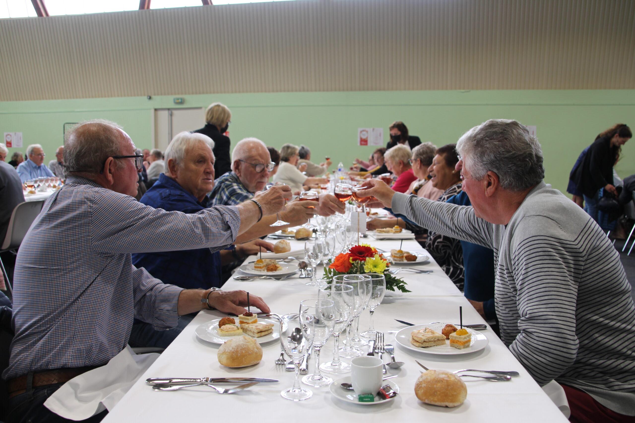banquet des aînés fleury-sur-orne