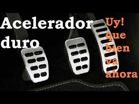 Pedal Acelerador Duro Y Puntos Con Mal Tacto. Solución Fácil
