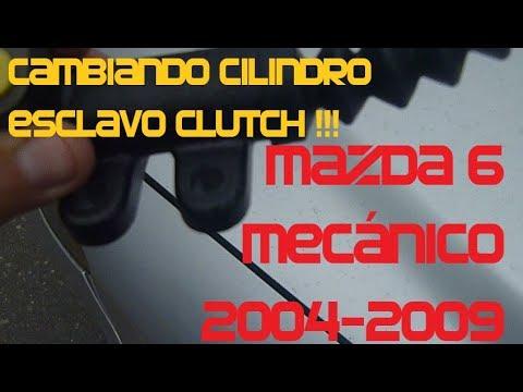 Reemplazar(Cambiar) Cilindro Esclavo Bomba Embrague  Mazda 6 Mecánico 2004-2009