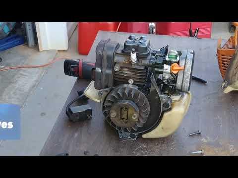 RDMJ.PARTE 3.Como Cambiar el embrague.FS90R STIHL. No acelera o desaselera normal.