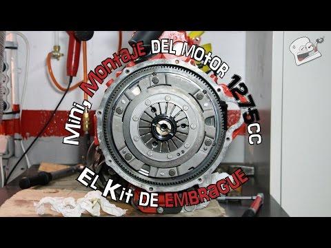 Mini, montaje del motor 1275cc #16: El kit de embrague | (En español)