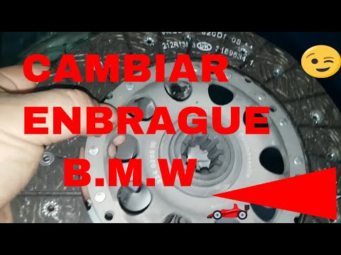 volante bimasa Clutch Dual-mass bmw 328 -E36  cambiar embrague en español