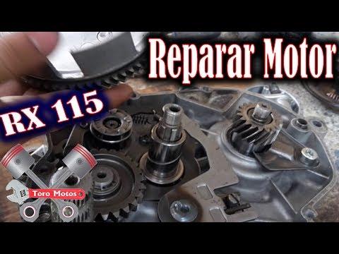 Yamaha RX 115 Reparar Motor Tapa Clutch Embrague Parte 1 | ToroMotos