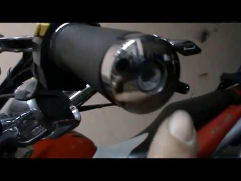 Hyosung 650 GV Aquila. Desmontar regulador, maneta embrague,  bobinas. Video 11 de ??