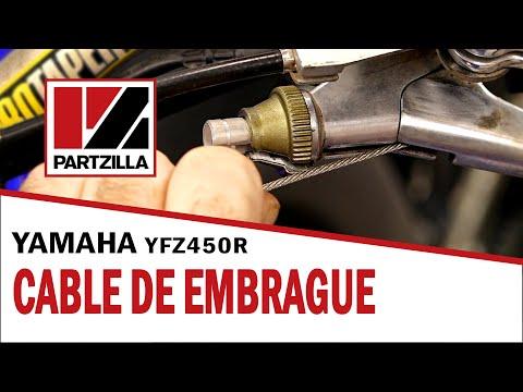 Yamaha YFZ 450R   Instalación y Ajuste del Cable del Embrague   Partzilla.com