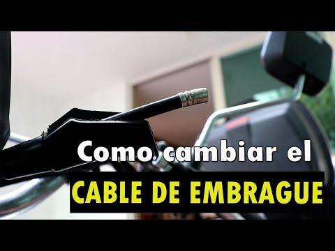 Como cambiar el chicote (cable) del embrague  apropiadamente!