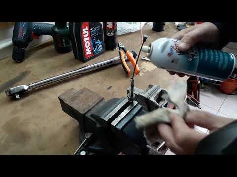Lubricar cable de embrague o clutch de moto Xr tornado honda yamaha suzuki varias