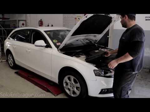 Audi A4 cambia embrague en taller SoloEmbrague.com