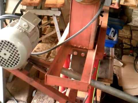 Como funcion el embrague de mi torno de madera