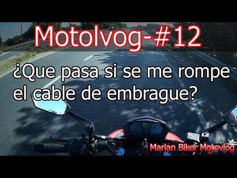 ¿QUE Pasa Si se me Rompe el Cable De Embrague? 🤔  Motovlog-#12