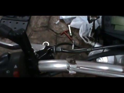 SUZUKI GSR 600. Cómo ajustar el embrague. Video 40 de ?? How to adjust clutch.