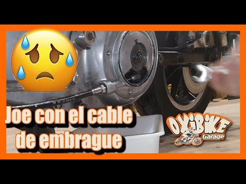 PARTE 14 MECANICA SPORTSTER EN ESPAÑOL Cable EMBRAGUE SPORTSTER XL 1200