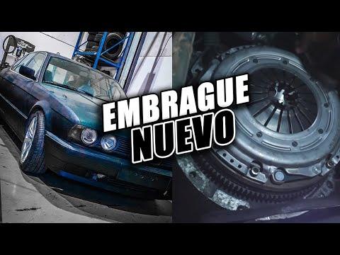 CAMBIO el EMBRAGUE de MI BMW E34 ¡RECUPERAMOS POTENCIA! | JGP CREW