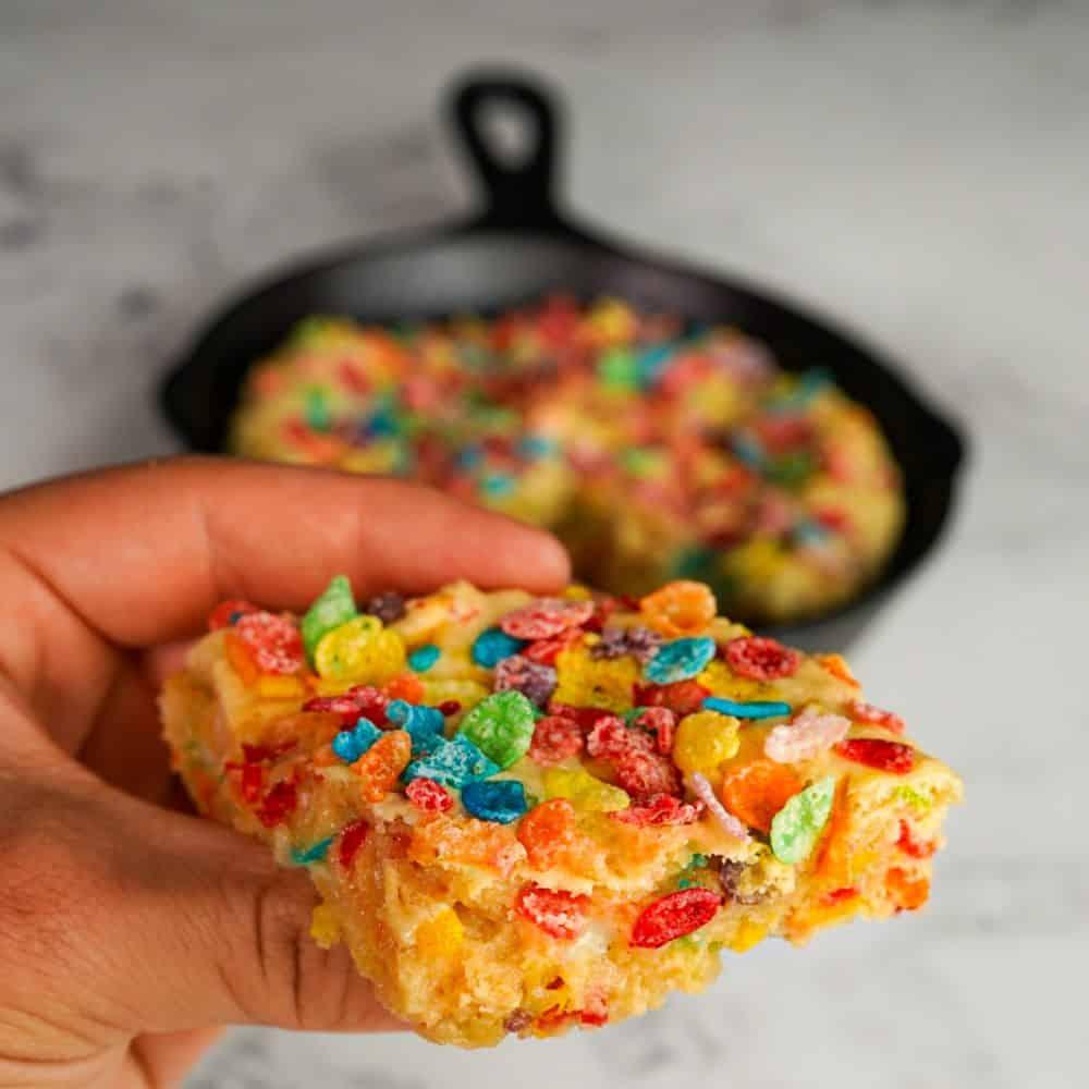 Fruity Cereal Blondie