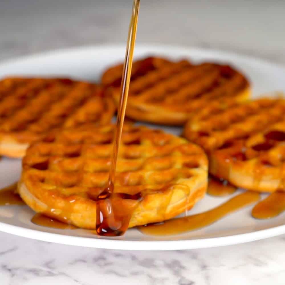 Meal Prep Frozen Waffles