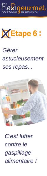 Flexigourmet, un planificateur de repas qui lutte contre le gaspillage alimentaire