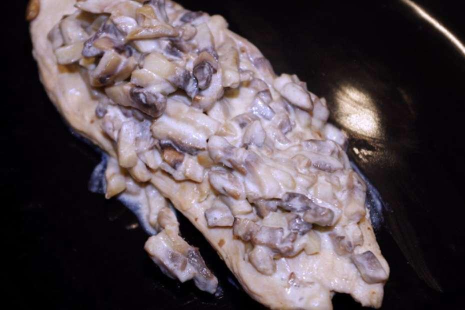 Recette rapide pour le soir : escalopes de dinde aux champignons
