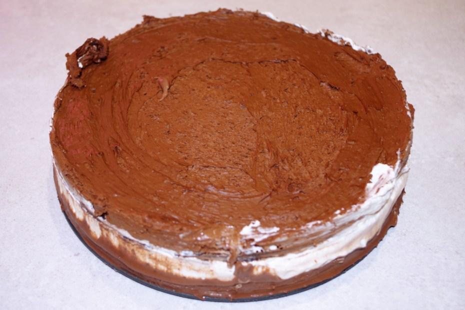 Recette du gâteau au chocolat et vanille