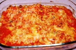 Recette du gratin d'oeufs à la tomate