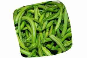 Recette de la salade de haricots verts au lapin : haricots verts