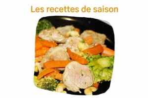 Les recettes de saison