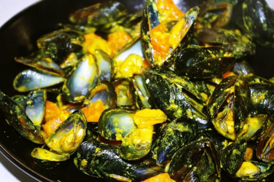 Recette facile des moules au curry