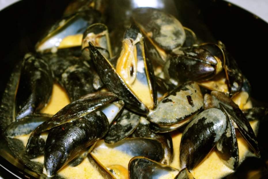 Recette facile et rapide des moules à la sauce thaïe