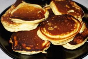 Recette des pancakes au miel
