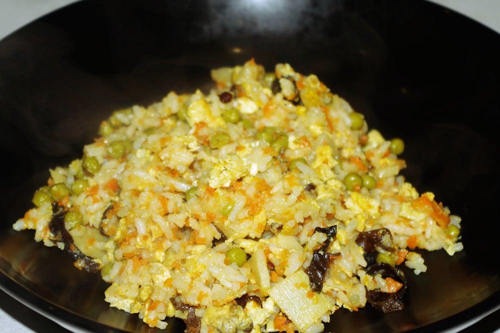 Recette du riz cantonnais