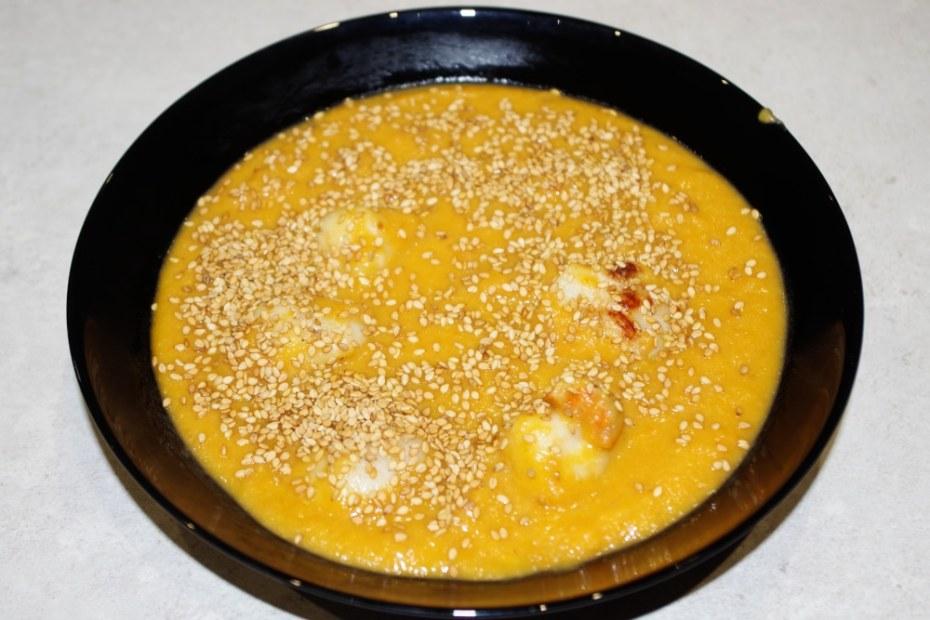 Recette facile et rapide : la soupe de carottes aux Saint-Jacques