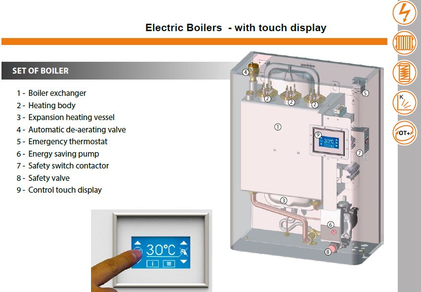 Electric Boilers / Electric Central Heating Boilers