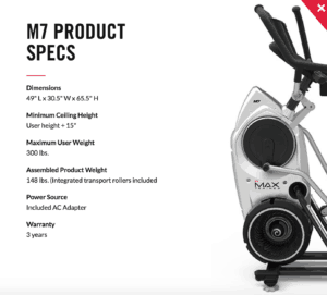 the bowflex max trainer m7 reviews