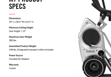 the bowflex max trainer m7 reviews