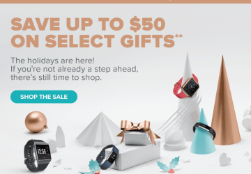 fitbit holiday deals