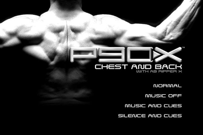 the p90x chest and back workout