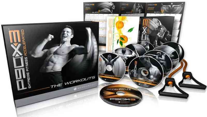 the p90x 3 system