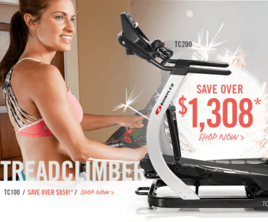 find the best deal on a bowflex treadclimber