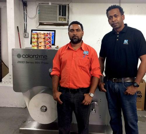 Trinidad Label Company Colordyne Technologies