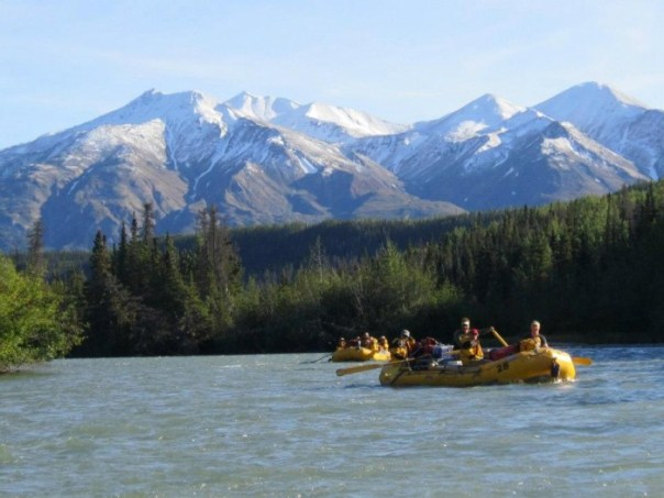 6 Day Whitewater Camping Expedition Chilko- Chilcotin-Fraser River Trip