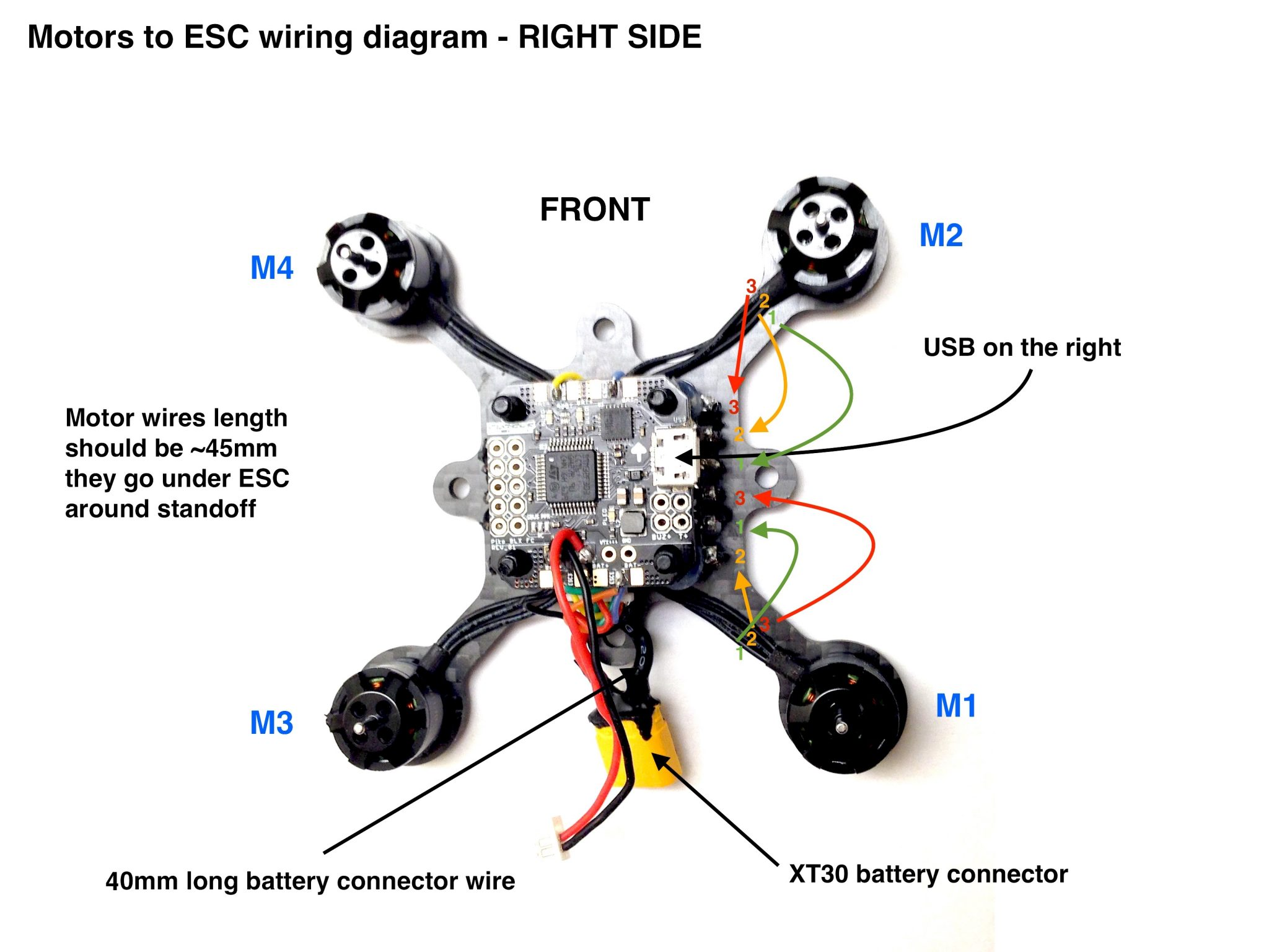 Cc3d Quadcopter Wiring Diagram