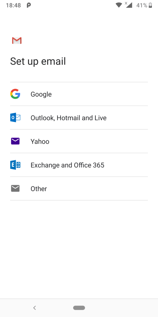 Setting up emails in Gmails 1