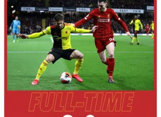 Download Watford vs Liverpool 3-0 Highlights Video