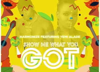 Harmonize show me what you got