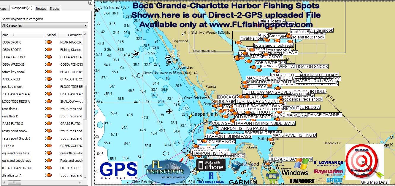 Map Sarasota Florida Area