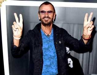 """LOS ANGELES, CA - SEPTEMBER 25: Musician Ringo Starr arrives at """"Ringo Star: In Conversation"""" to discuss his book PHOTOGRAPH on September 25, 2015 in Los Angeles, California. (Photo by Kevin Winter/Getty Images)"""