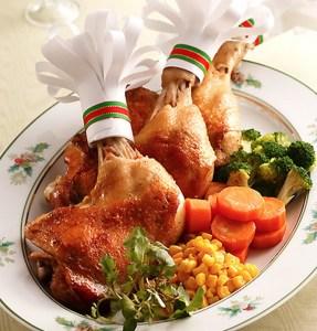 クリスマスチキンは人気のローソンで!カロリーやフライパンで手作りできるってホント?