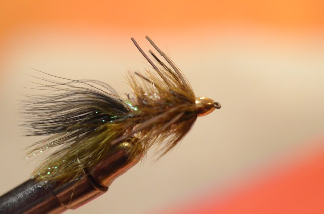 Burgin bugger. An effective trout fly that can also tempt a carp or two