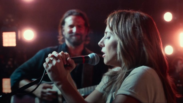 A scene from 'A Star is Born'