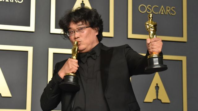 Parasite makes history with Oscar firsts